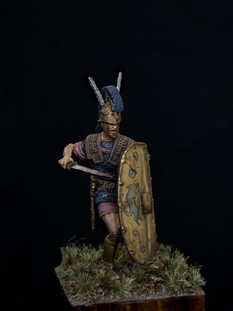 Figures: Roman triarius. 2nd Punic war, photo #1