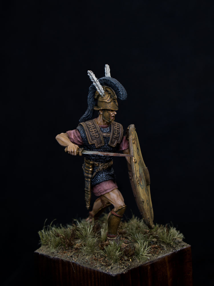 Figures: Roman triarius. 2nd Punic war, photo #2
