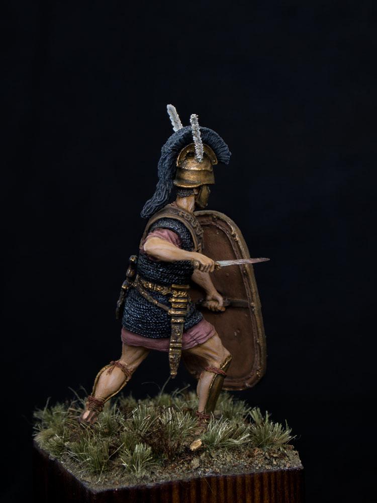 Figures: Roman triarius. 2nd Punic war, photo #3