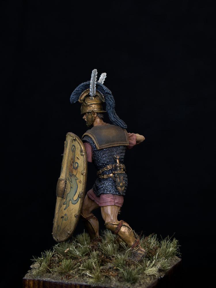 Figures: Roman triarius. 2nd Punic war, photo #4