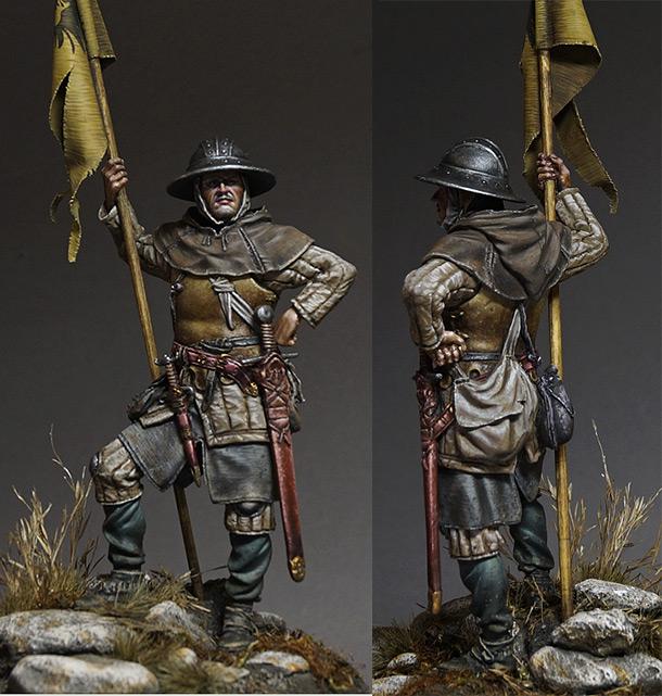 Figures: Sergeant, XIII cent.