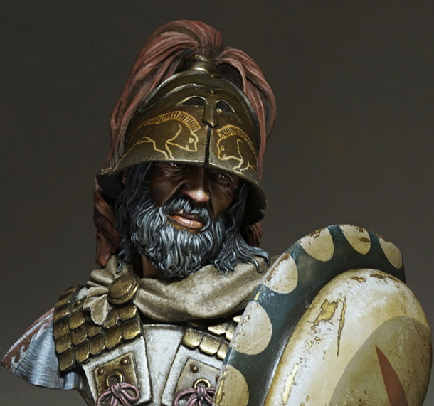 Figures: Etruscan warrior
