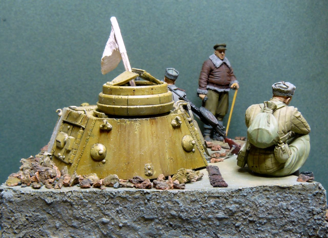 Dioramas and Vignettes: First minutes of silence, photo #4