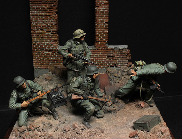 Dioramas and Vignettes: Street fight