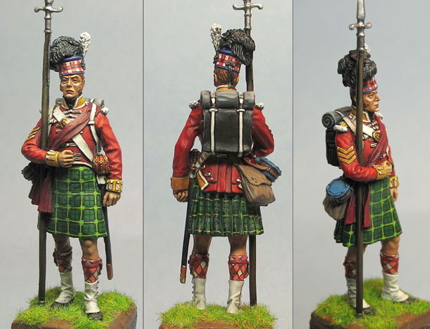 Figures: Scottish Soldier, 92nd Gordon Highlanders