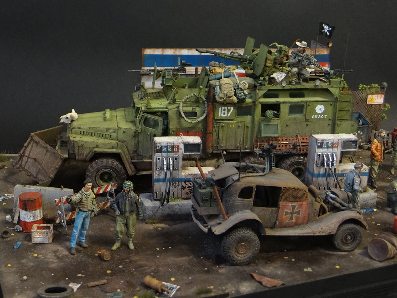 Dioramas and Vignettes: Road Warriors, photo #1