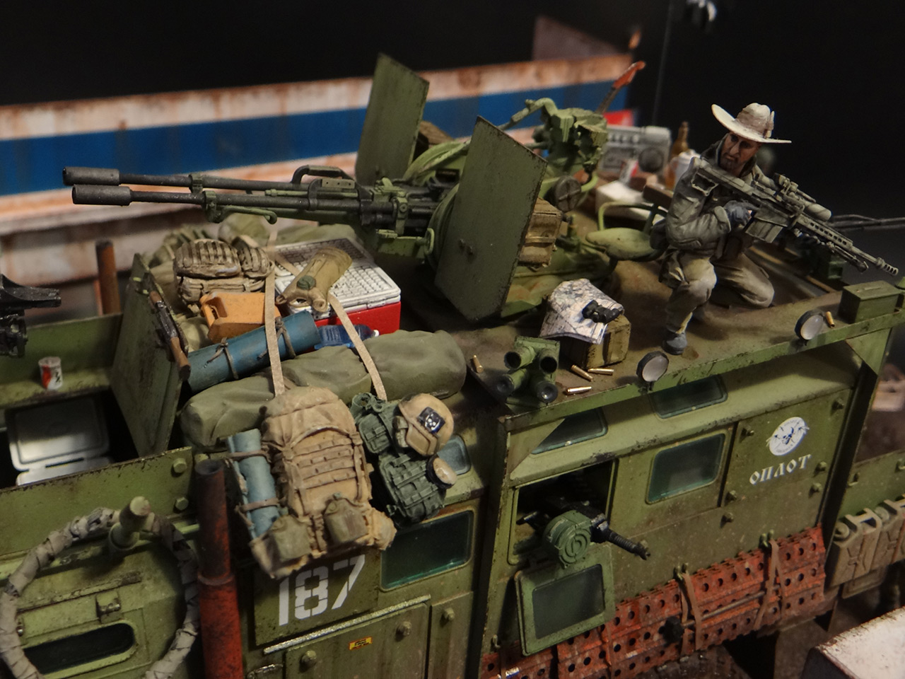 Dioramas and Vignettes: Road Warriors, photo #10