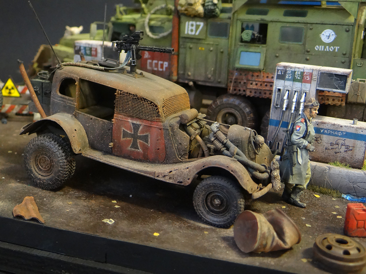 Dioramas and Vignettes: Road Warriors, photo #14