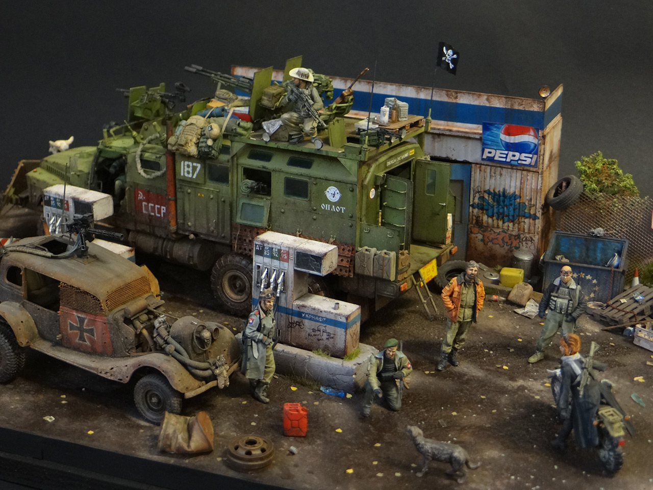Dioramas and Vignettes: Road Warriors, photo #2