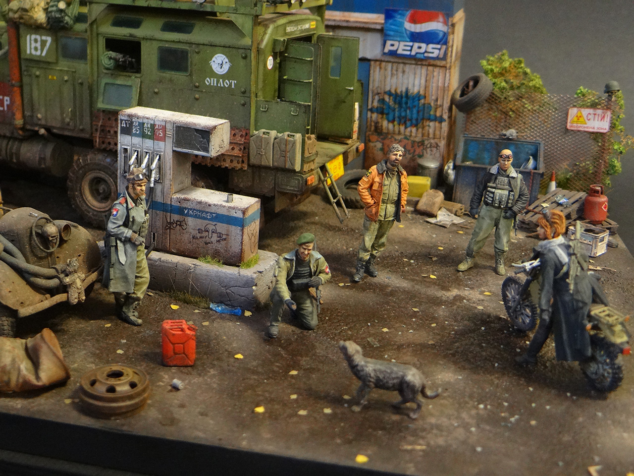 Dioramas and Vignettes: Road Warriors, photo #6