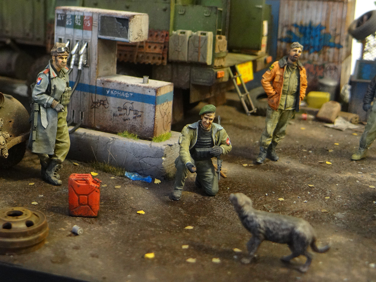 Dioramas and Vignettes: Road Warriors, photo #7