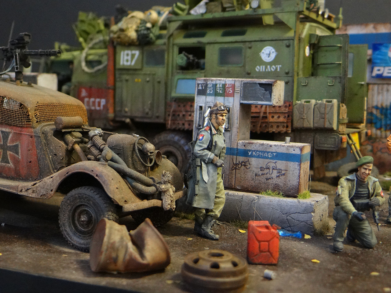 Dioramas and Vignettes: Road Warriors, photo #8