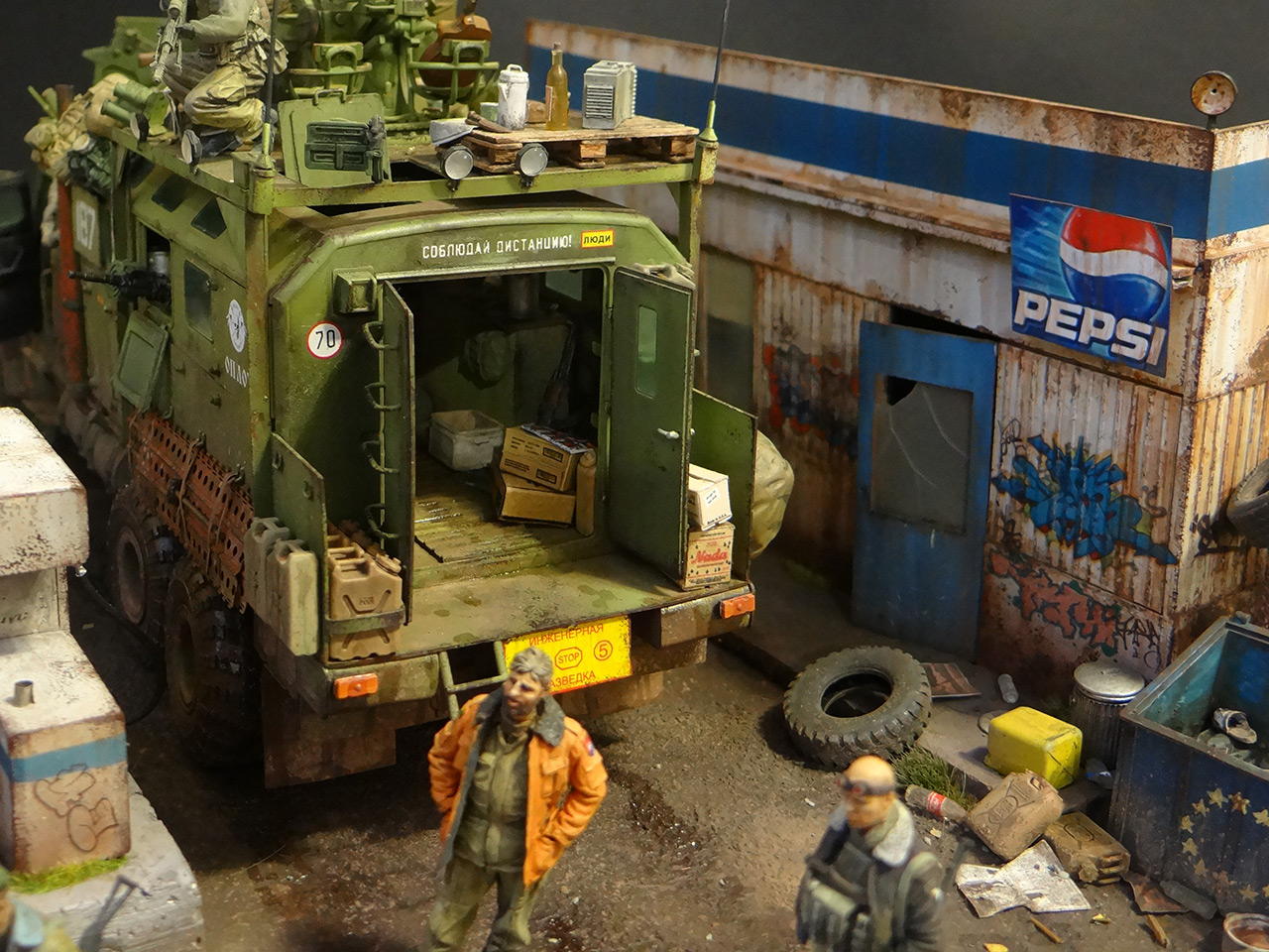 Dioramas and Vignettes: Road Warriors, photo #9