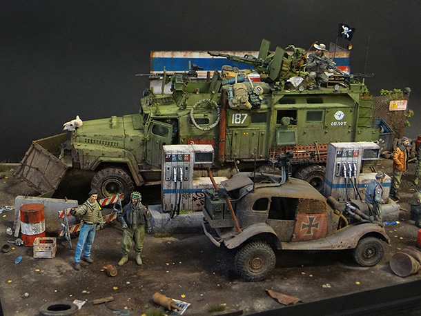 Dioramas and Vignettes: Road Warriors