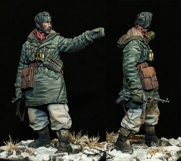 Figures: Panzergrenadier, LSSAH