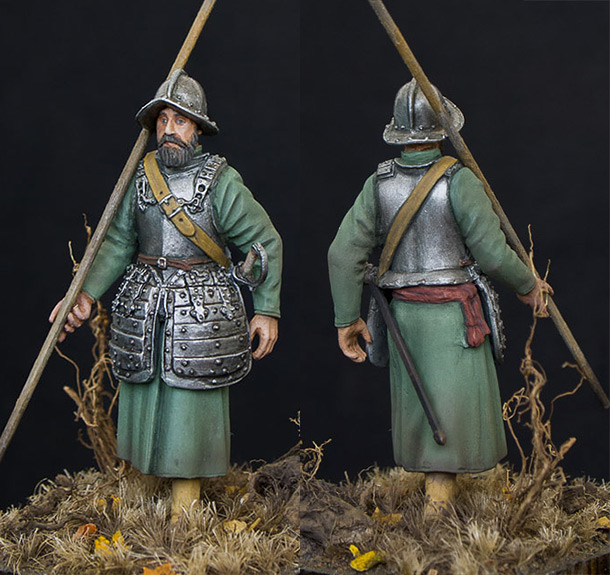 Figures: Pikeman, 14th streletsky prikaz