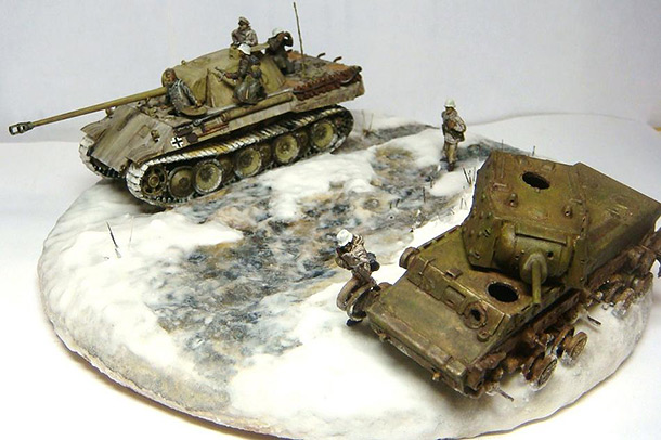 Dioramas and Vignettes: Leningrad Panther