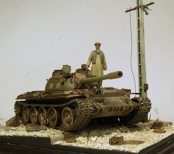Dioramas and Vignettes: T-55 of the Northern Alliance