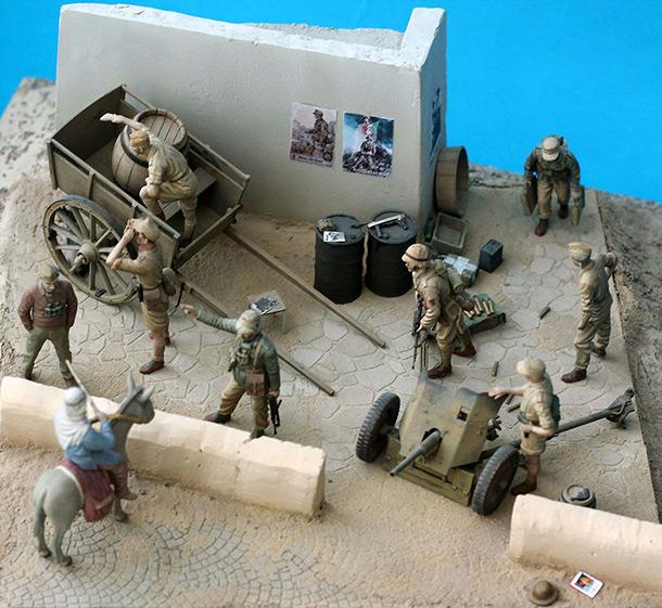 Dioramas and Vignettes: DAK. Reconnaissance report