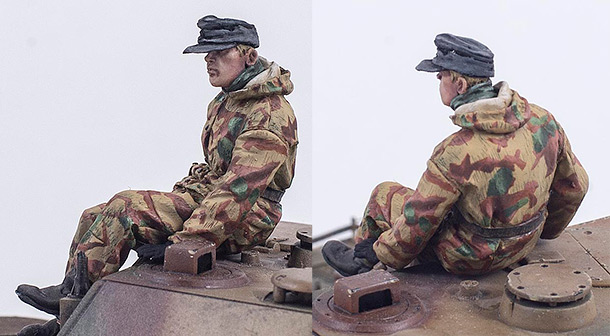 Figures: German SPG crewman