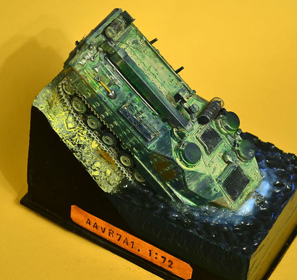 Dioramas and Vignettes: AAVR7A1: Bathing of the amphibian
