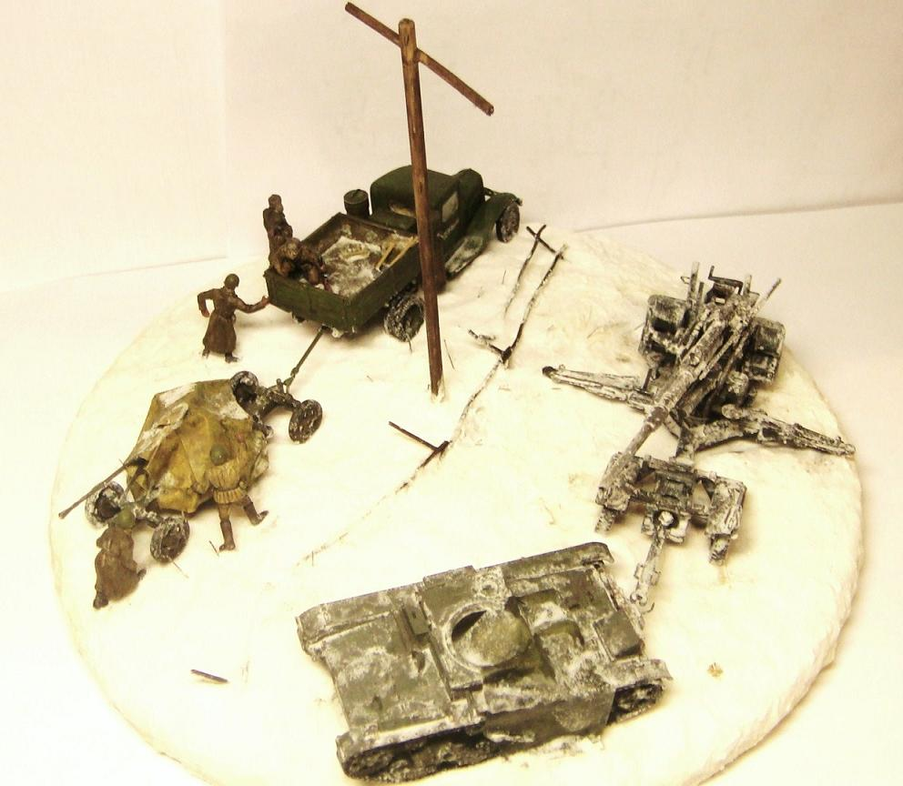 Dioramas and Vignettes: Winter road, photo #10