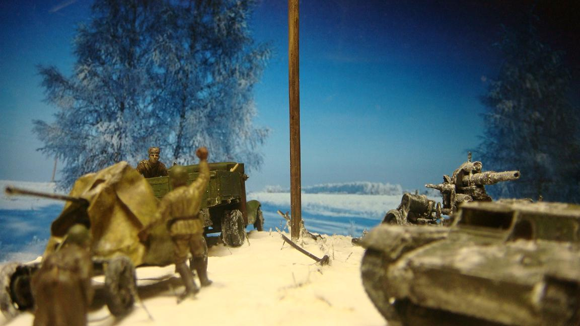 Dioramas and Vignettes: Winter road, photo #3