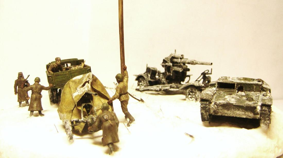 Dioramas and Vignettes: Winter road, photo #6