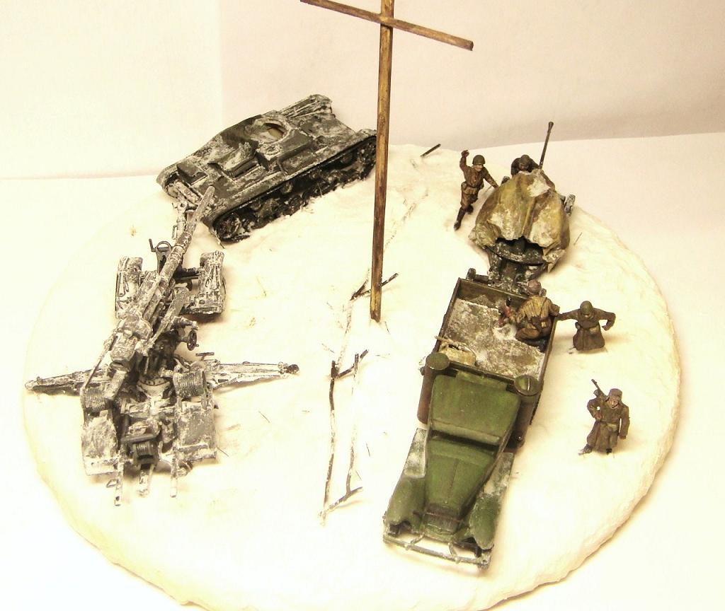 Dioramas and Vignettes: Winter road, photo #8