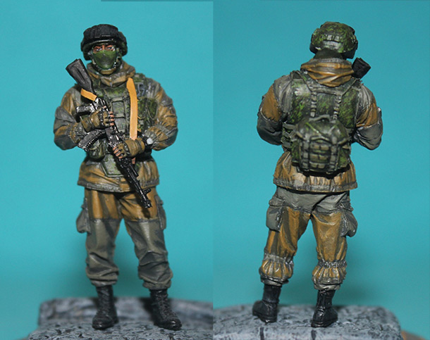 Figures: Modern Russian soldier