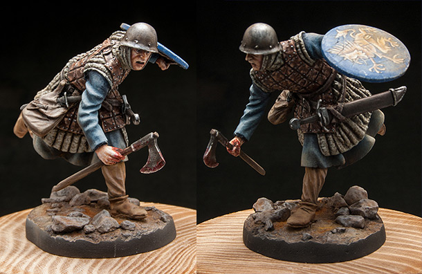Figures: Italian home guard, XIV cent.