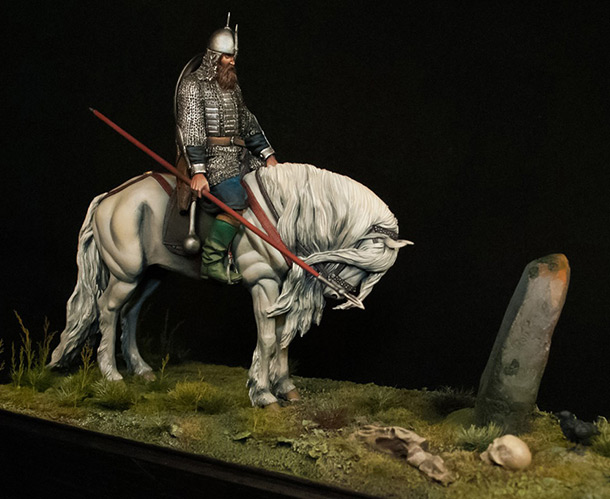 Dioramas and Vignettes: Knight on the crossroads