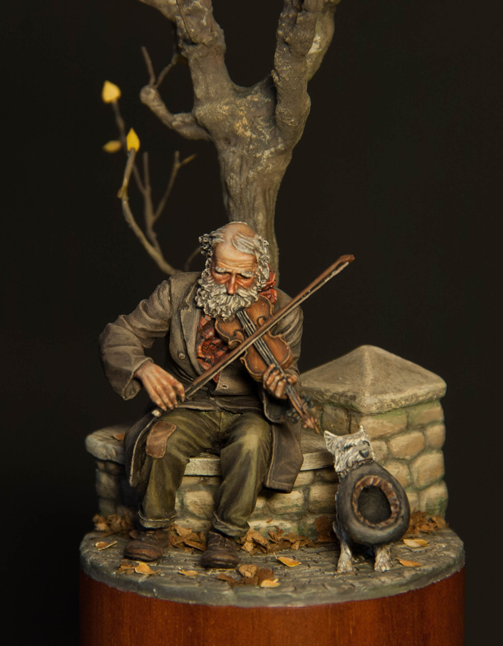 Dioramas and Vignettes: The old fiddler, photo #1