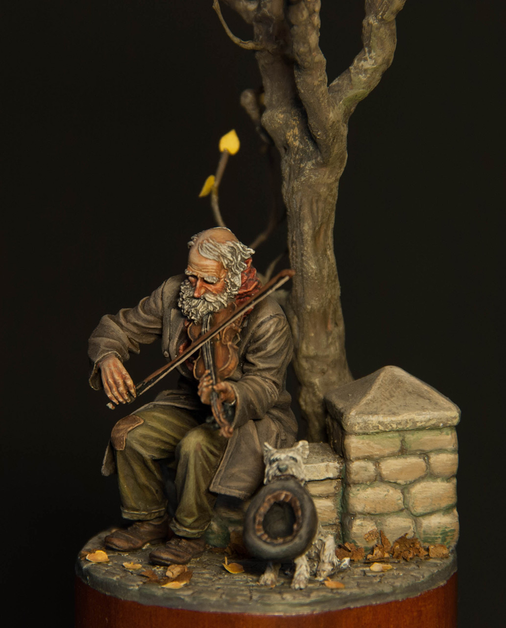 Dioramas and Vignettes: The old fiddler, photo #3