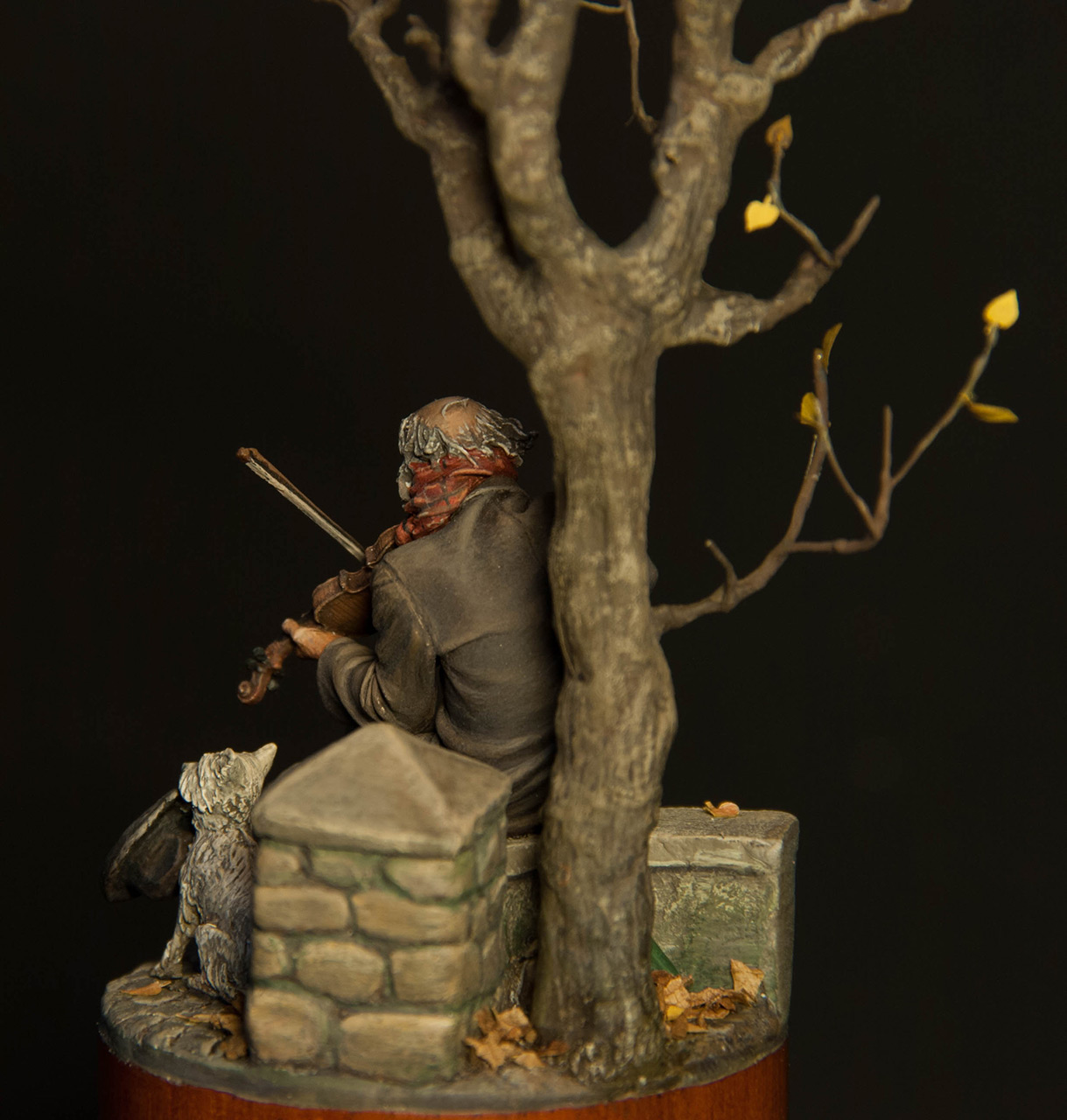 Dioramas and Vignettes: The old fiddler, photo #4