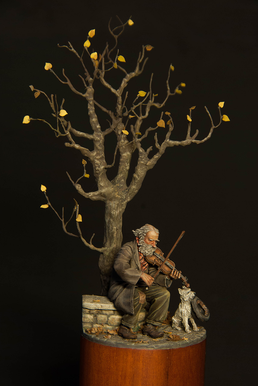 Dioramas and Vignettes: The old fiddler, photo #6