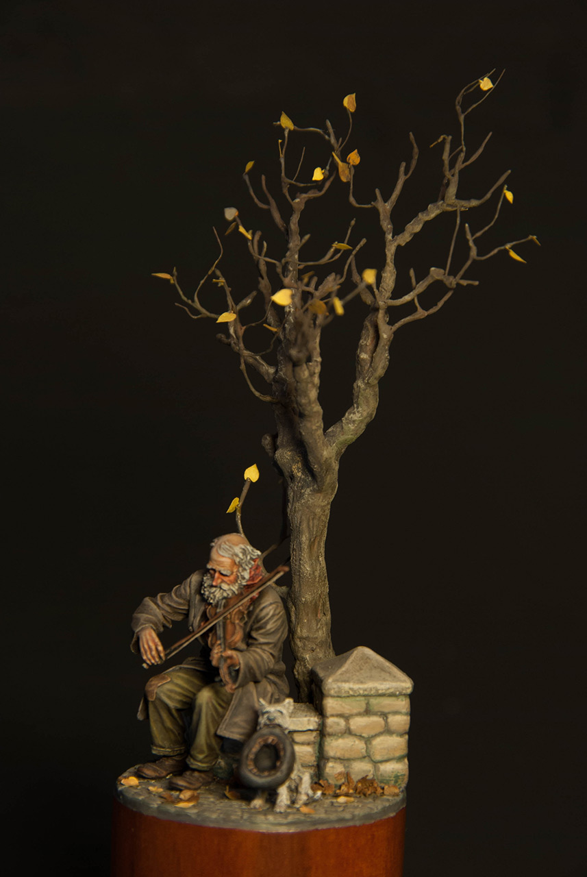Dioramas and Vignettes: The old fiddler, photo #7