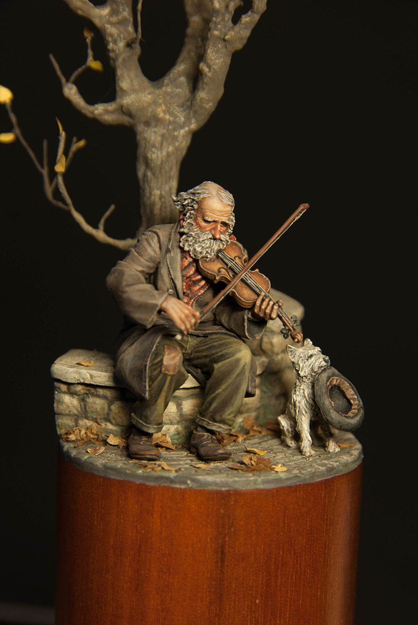 Dioramas and Vignettes: The old fiddler, photo #8