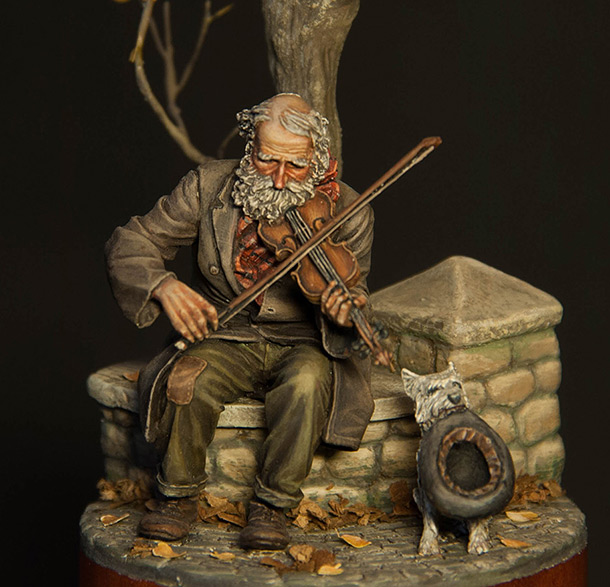 Dioramas and Vignettes: The old fiddler