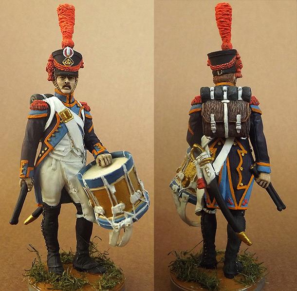 Figures: Drummer, grenadier coy of 57th line inf. regt. France 1809-12