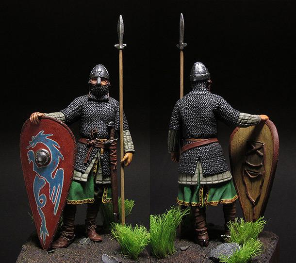 Figures: Normandian knight