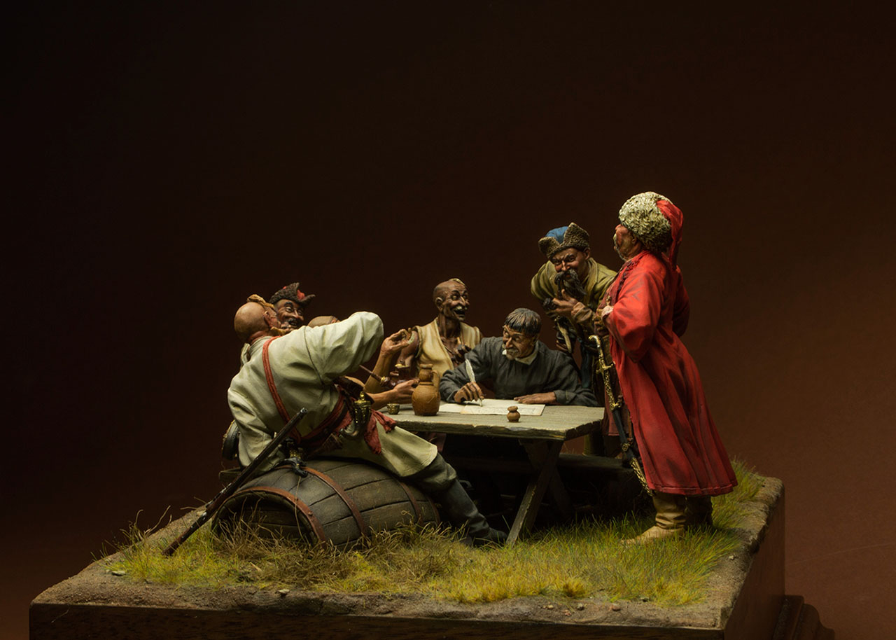 Dioramas and Vignettes: Zaporozhian cossacks, photo #2