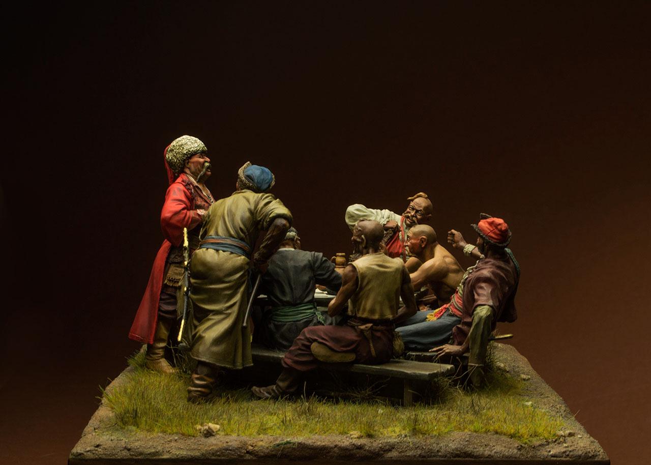 Dioramas and Vignettes: Zaporozhian cossacks, photo #3