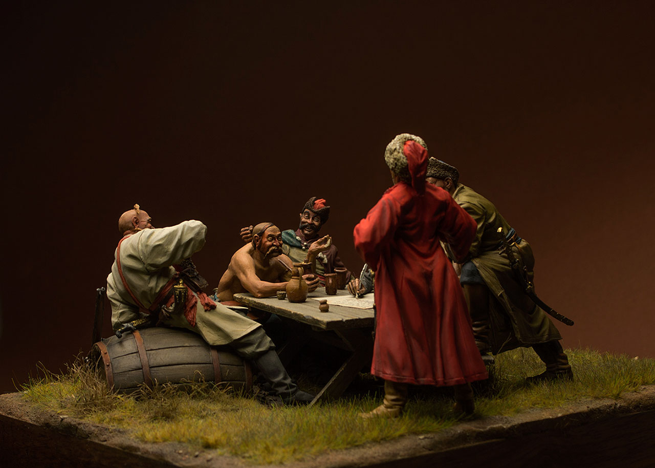 Dioramas and Vignettes: Zaporozhian cossacks, photo #5