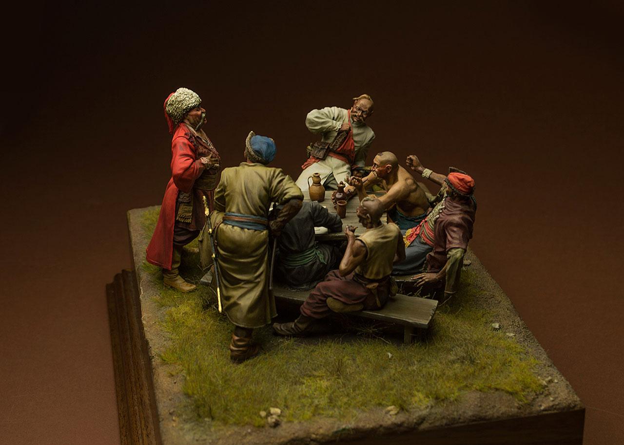 Dioramas and Vignettes: Zaporozhian cossacks, photo #7