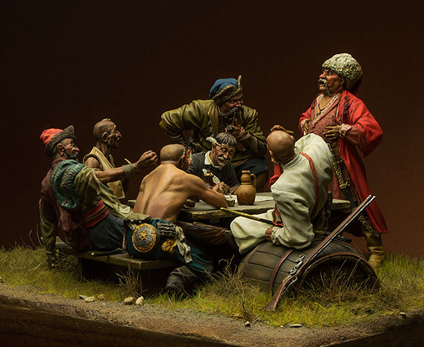 Dioramas and Vignettes: Zaporozhian cossacks