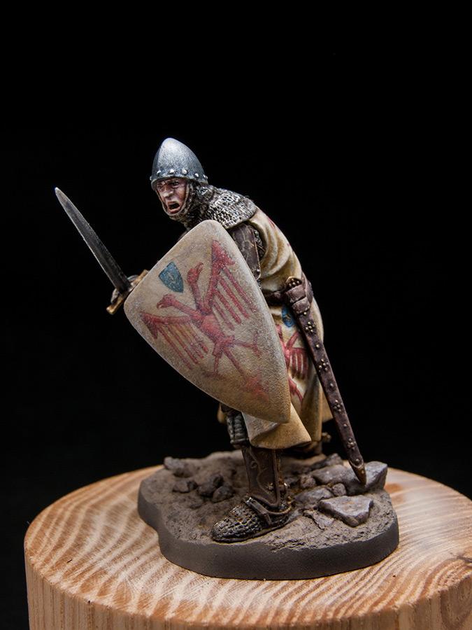 Figures: Italian knight, early XIV cent., photo #2