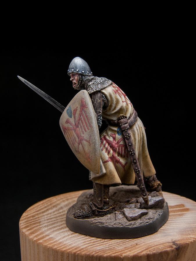 Figures: Italian knight, early XIV cent., photo #3