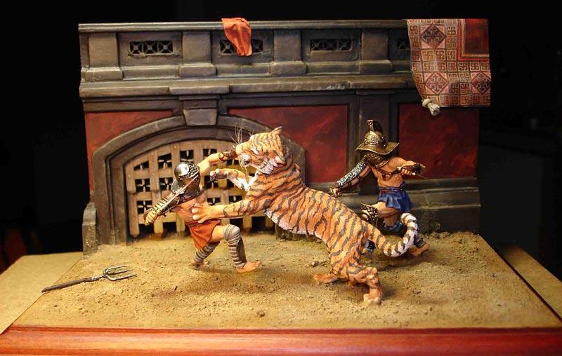 Dioramas and Vignettes: Gladiators, photo #1