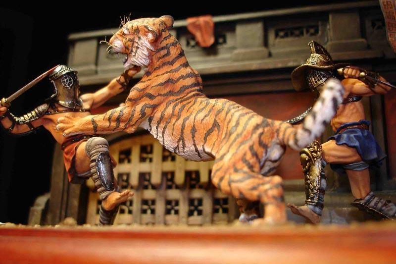 Dioramas and Vignettes: Gladiators, photo #2